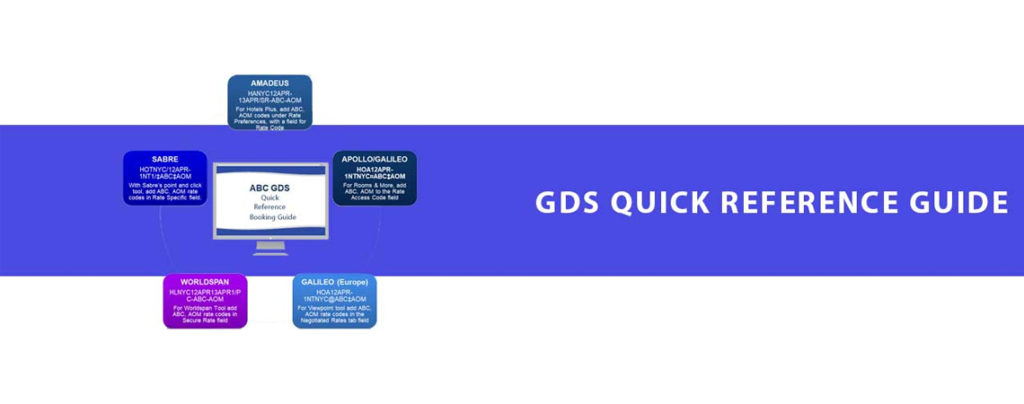 GDS Quick Reference Booking Guide