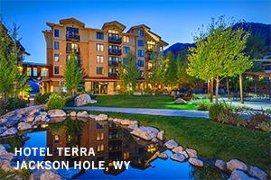 Hotel Terra, Jackson Hole WY